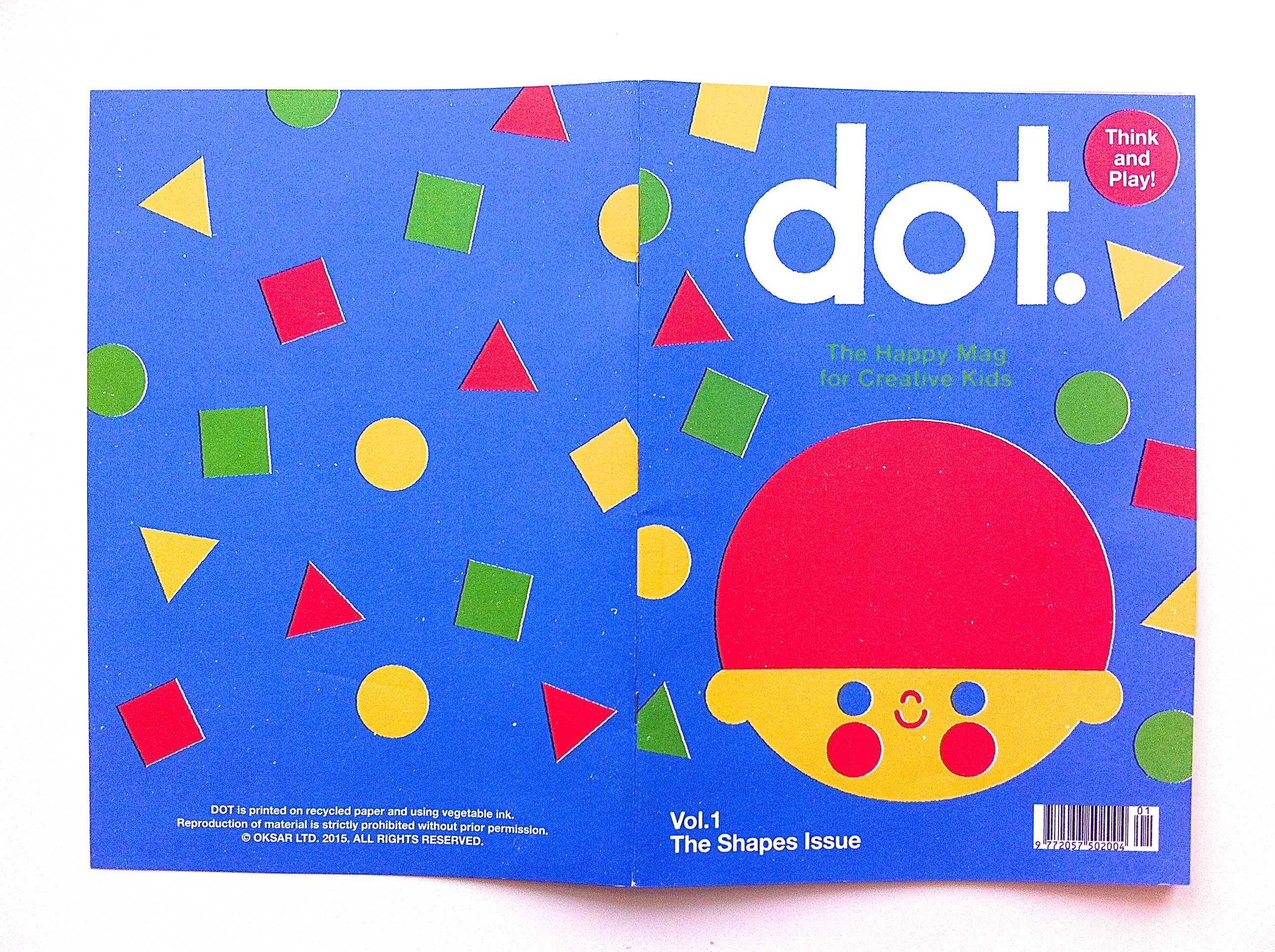 MAKI:minimag_DOT. The happy mag for creative kids